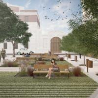 Bari, la seconda vita di piazza Disfida di Barletta: alberi, panchine e stop alle auto