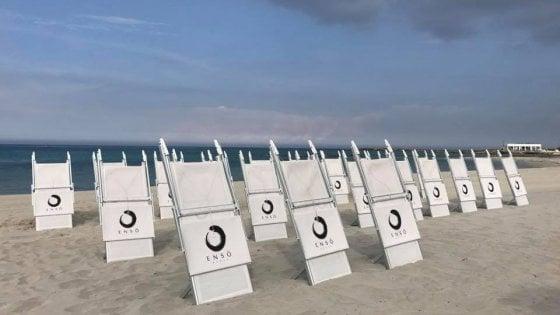 Salento, distrugge il suo lido per protesta: rischia una sanzione per aver deturpato la spiaggia