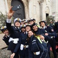 Bari, è la festa dei vigili urbani: cerimonia in Basilica