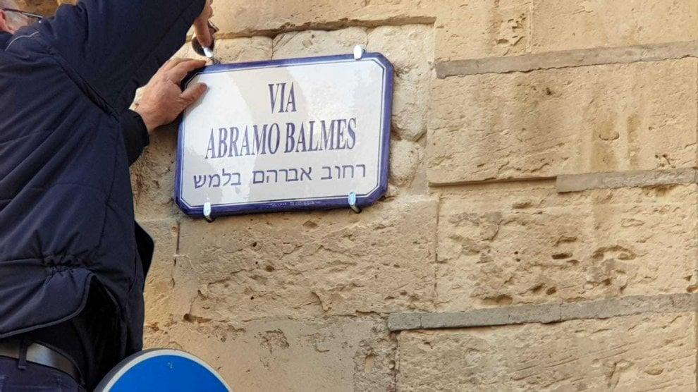 Giorno della memoria, a Lecce le vie hanno anche il nome in ebraico