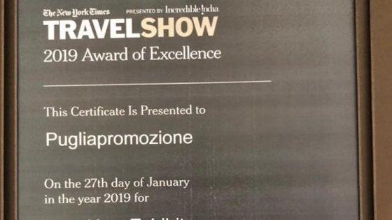 """Turismo, la Puglia premiata dal New York Times: """"Capace di coniugare mare e cultura"""""""