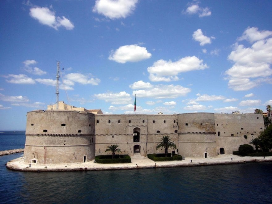 Il castello di Taranto nella top ten dei luoghi del cuore Fai