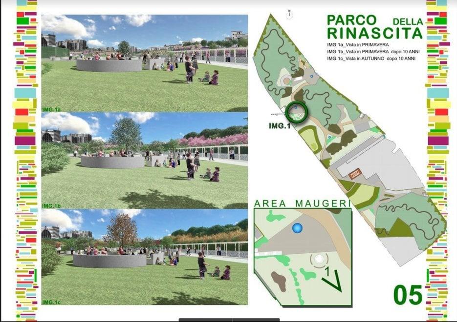 Bari, ecco il 'Parco della Rinascita': sarà il più grande della città e sorgerà al posto della Fibronit