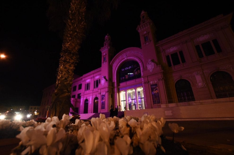 Giornata dell'epilessia, il Margherita di Bari s'illumina di viola