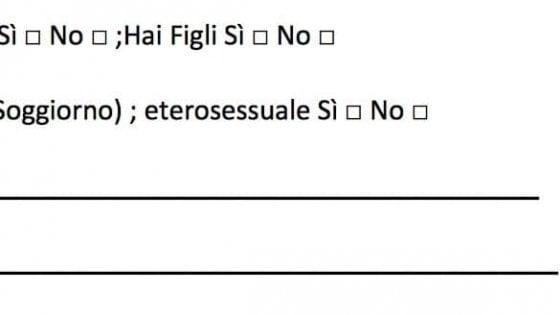 """""""Eterosessuale: si o no?"""", a Bari questionario sull'orientamento sessuale per reclutare animatori"""