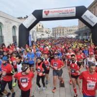 Bari, corsa per il cuore: il 17 febbraio Running heart. Lungomare e corso Vittorio Emanuele chiusi al traffico