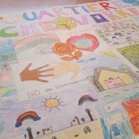"""""""Più gelaterie e arcobaleni, meno razzismo"""": a Bari i bambini ridisegnano il quartiere"""