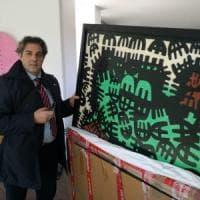 Bari, il quadro di Capogrossi  torna alla Pinacoteca, ma resta sotto sequestro