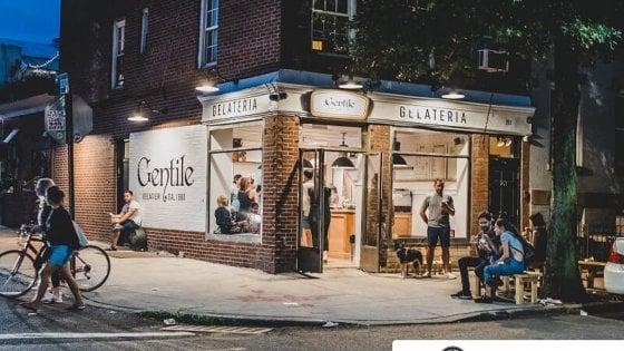 """Da Bari vecchia a Brooklyn, l'antica gelateria Gentile conquista New York: """"In gelato we trust"""""""