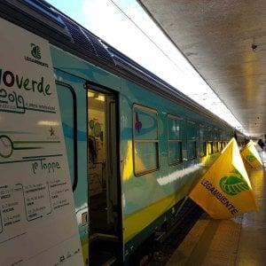 A Bari torna il Treno verde di Legambiente: misurerà la qualità dell'aria in città