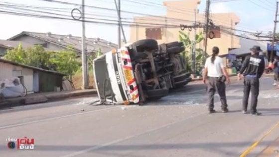 Thailandia, muoiono in un incidente due fidanzati italiani: travolti sulla moto da un'autocisterna