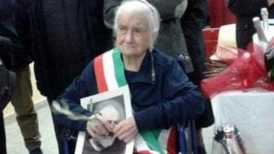 E' pugliese la donna più anziana d'Europa: nonna Peppa compie 116 anni ed è festa nel Foggiano
