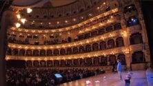 Teatro contro le mafie studenti al Petruzzelli