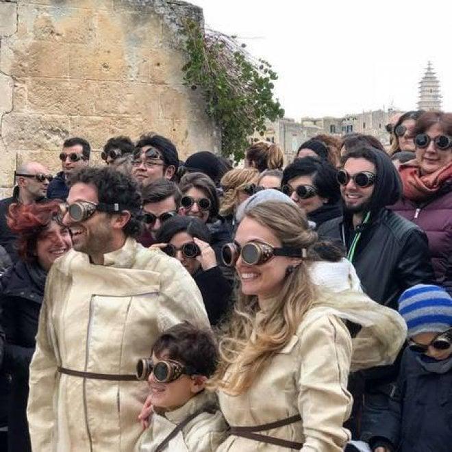 """Matera 2019, ai turisti gli 'occhiali da temponauta': """"Strumento per ammirare la bellezza"""""""