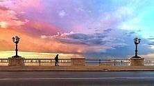 Il sole, la pioggia, il mare  i colori di Bari in una foto