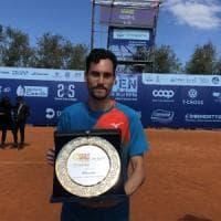 Tennis, a Barletta la prima volta di un italiano: Gianluca Mager vince il