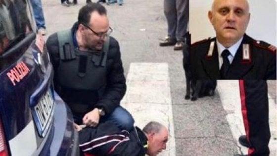 Carabiniere ucciso, l'autopsia: un proiettile ha trapassato l'aorta. Il 16 i funerali a San Severo con la ministra Trenta