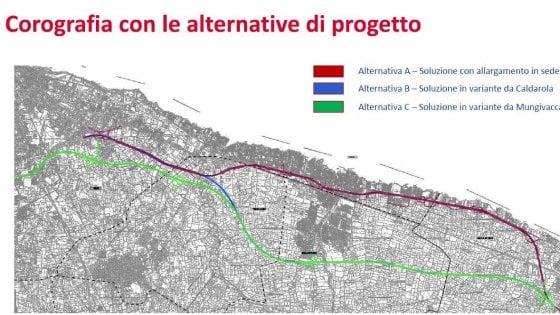 """La tangenziale di Bari raddoppia, ci sono 3 progetti ma nessuna intesa: """"Rischio di alto impatto ambientale"""""""