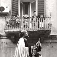 Bari, i volti del Libertà nella processione dei Misteri