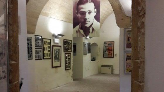 Rodolfo Valentino, nel museo di Castellaneta gli attori interpretano la vita del divo Rudy