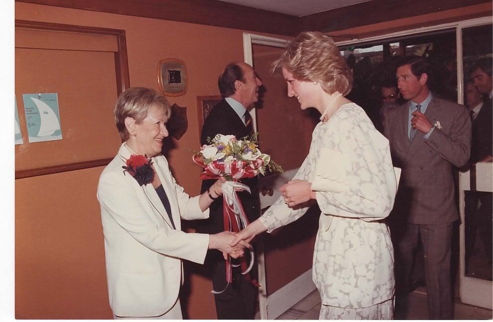Lady D a Bari, l'amarcord per i 90 anni del Circolo della Vela