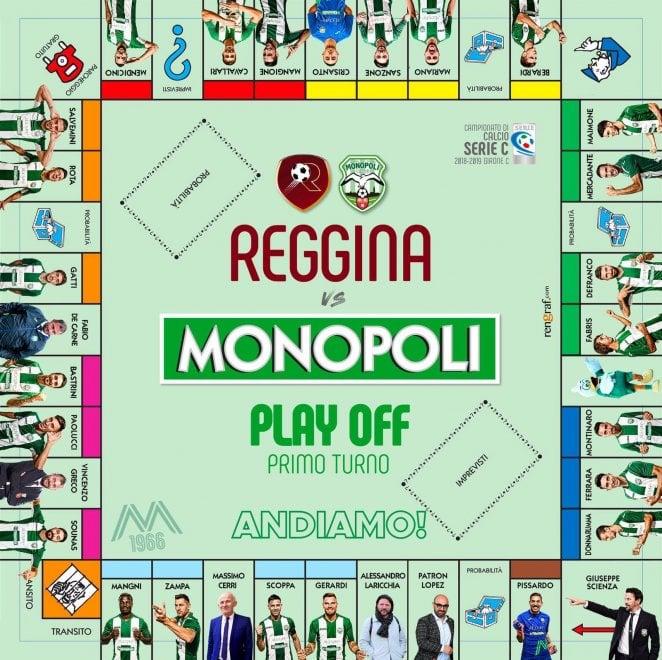 Il Monopoli inizia i playoff di serie C giocando con l'ironia sfidando imprevisti e probabilità