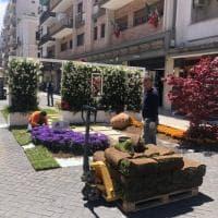 "Bari, in via Argiro fiorisce la 'Primavera Mediterranea"""
