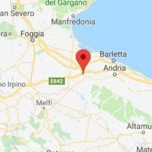 Lieve scossa di terremoto in Puglia: epicentro tra Canosa e Cerignola