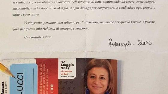 """Bari, lettera ai genitori della preside candidata al Comune: è giallo. Lei si difende: """"A mia insaputa"""""""