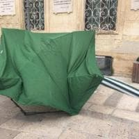 Assalto al gazebo della Lega a Lecce: in 8 identificati dalla Digos.