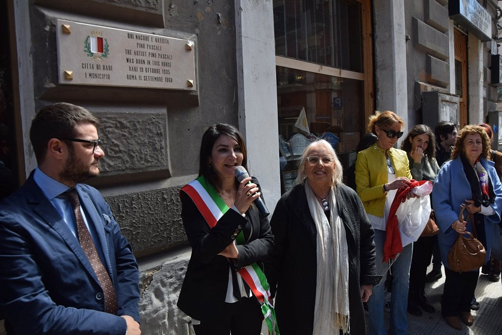 """Qui nacque Pino Pascali"", una targa per l'artista a Madonnella"