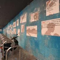"""""""Le 28 regole d'ingaggio per i migranti"""": a Bari il murale alla memoria di Alessandro Leogrande"""