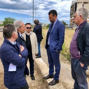 """Bari, Decaro al Nuovo San Paolo: """"Il quartiere avrà la strada d'accesso, cantiere aperto. Scusate il ritardo"""""""