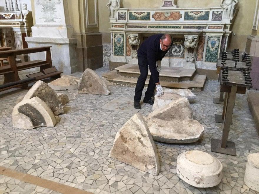 Terremoto in Puglia, danneggiata la chiesa di San Domenico a Trani