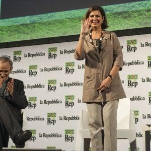 """Laura Boldrini in Puglia: """"Decaro a Bari e Salvemini a Lecce sono la scelta giusta"""""""