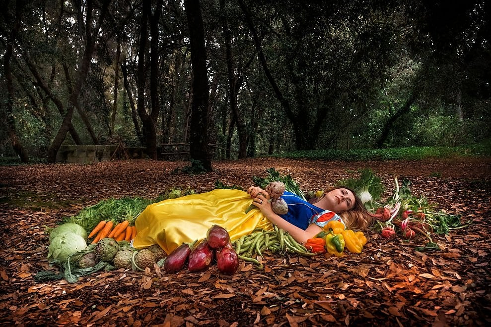 Principesse e pifferai: nel Salento la cena sembra una favola