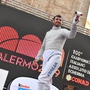 Scherma, il foggiano Luigi Samele vince il titolo tricolore di sciabola