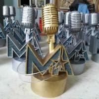 Music award, i premi ai cantanti italiani realizzati in 3d in Puglia
