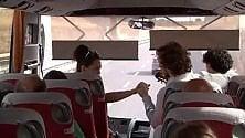 Matera, concerto sul bus per lanciare il Valle d'Itria
