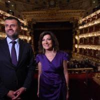 Tosca al Petruzzelli, Casellati applaude il figlio direttore d'orchestra