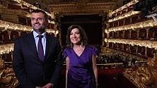 Casellati applaude il figlio  che dirige la Tosca a Bari