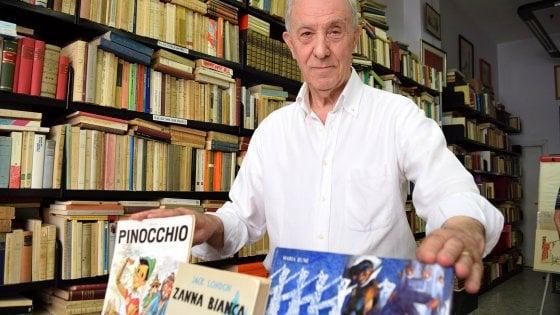 """Bari, la sfida del libraio: """"Regalo un libro ai bambini che spengono il telefono per un'ora"""""""