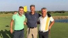 Van Basten, golf e relax  con Tassotti e Donadoni