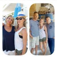 Kate Moss in Salento, le vacanze della top model