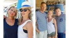 Kate Moss in Salento  vacanze da top model