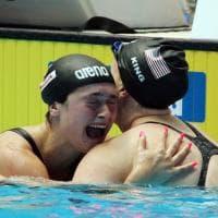 """Mondiali di nuoto, le lacrime di Benedetta Pilato dopo l'impresa: """"Non ci credo"""""""