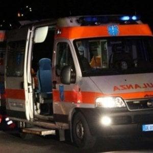 Brindisi, un morto e 8 feriti nello scontro fra tre auto sulla Oria-Manduria