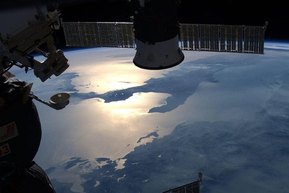 Luca Parmitano dallo spazio regala alla Puglia un'altra immagine spettacolare