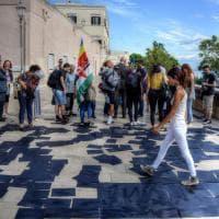 'Solo Nero', un'installazione d'arte ricorda la difesa del porto di Bari dai nazisti