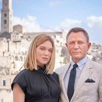 007 missione Matera, Daniel Craig incontra la sua 'Bond girl'